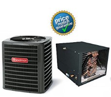 Goodman GSZ140301K CHPF3642B6C MBVC1600AA1A SEER 15 Heat Pump Air Conditioner Split System