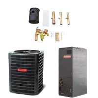 2.5 Ton Goodman 14 SEER Heat Pump & Air Handler Package GSZ140301 ARUF29B14