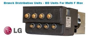 4 Port PMBD3640 BRANCH DISTRIBUTION UNITS - BD UNITS FOR MULTI F MAX