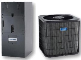 American Standard 4TWB3030C1000A GAF2A0A36M31SB 2.5 ton Silver Series Heat and Cool Air Conditioner