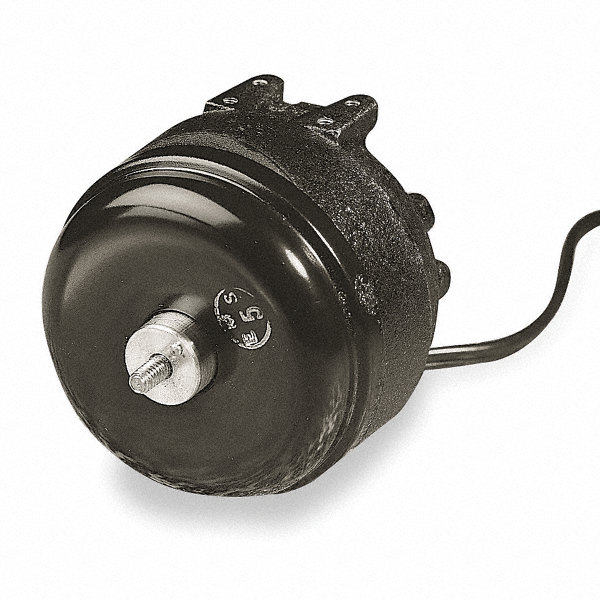 1/20 HP Unit Bearing Motor, Shaded Pole, 1500 Nameplate RPM,230 Voltage, Frame Non-Standard