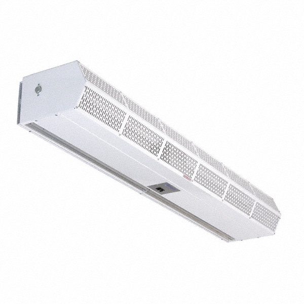 BERNER Air Curtain, 4 ft. Max. Door Width, 8 ft. Max. Mount Ht., 54 dBA @ 10 Feet, 3226 fpm
