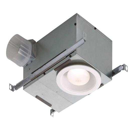 Broan-Nutone Bath Fan W/Rcssed Light 744 Unit: EACH