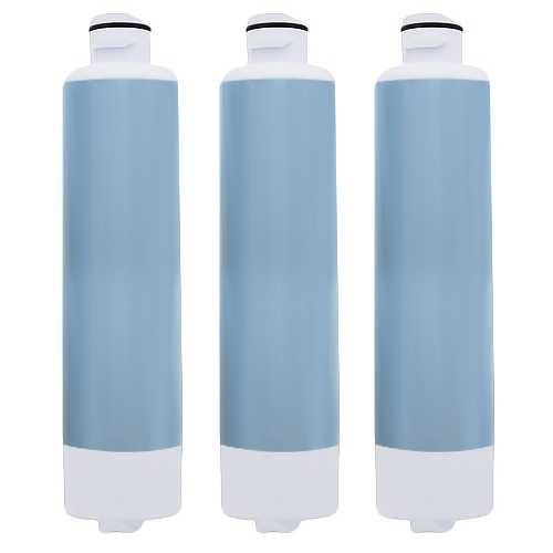 Aqua Fresh Replacement Water Filter f/ Samsung RS25H5121WW / RF323TEDBWW/AA Refrigerator Model 4Pk
