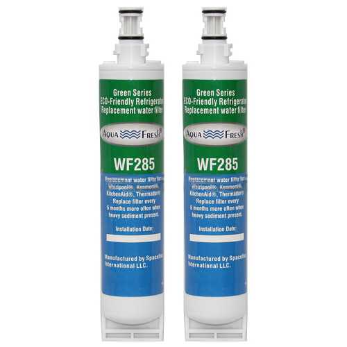 Aqua Fresh Water Filter Cartridge For Kenmore 51064 Refrigerators - 2 Pack