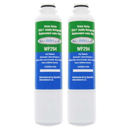 AquaFresh Replacement Water Filter for Samsung RF28HFEDTWW/AA Refrigerator Model (2 Pack)
