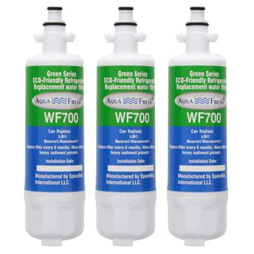 Aqua Fresh Water Filter For Kenmore 71063 / 72043 / 72053 Refrigerators - 3 Pack