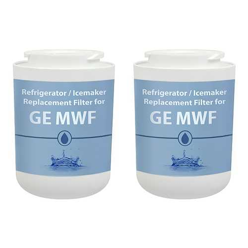 Aqua Fresh Replacement Water Filter for GE GSE25HSHSS / GSF25XGREBB Refrigerator Models (2pk)
