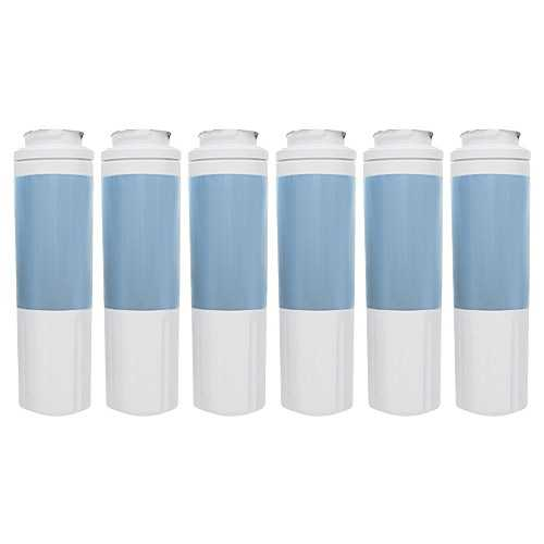 New Replacement Water Filter Cartridge For Kenmore 57089 Refrigerators - 6 Pack