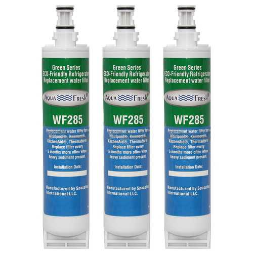 Replacement Water Filter Cartridge For Whirlpool Refrigerator ED5SHAXMB10 - (3 Pack)
