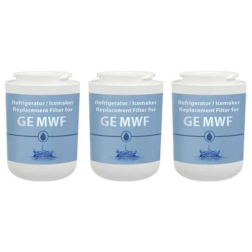 Replacement Filter for GE MWF / WF387 / EFF-6013A / WSG-1 (3-Pack) Replacement Filter