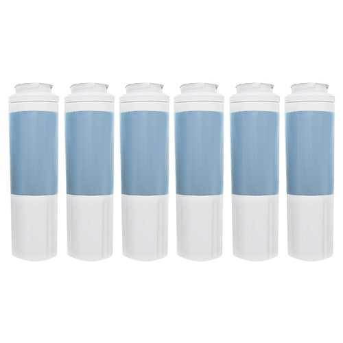 Replacement Water Filter Cartridge for KitchenAid Refrigerator KRFC300EWH - (6 Pack)