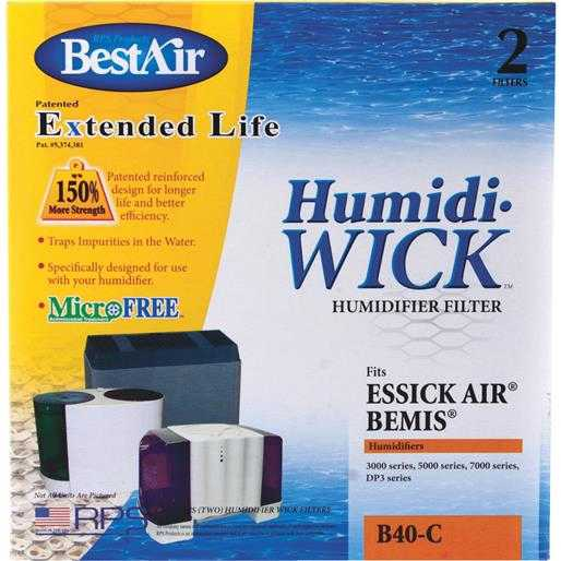 RPS Products, Inc. Humidifier Filter B40 Unit: EACH