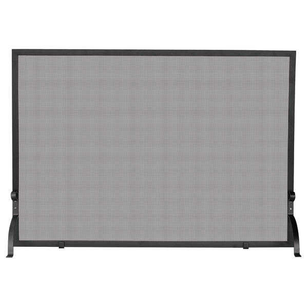 UniFlame Single Panel Olde World Iron Screen, Medium