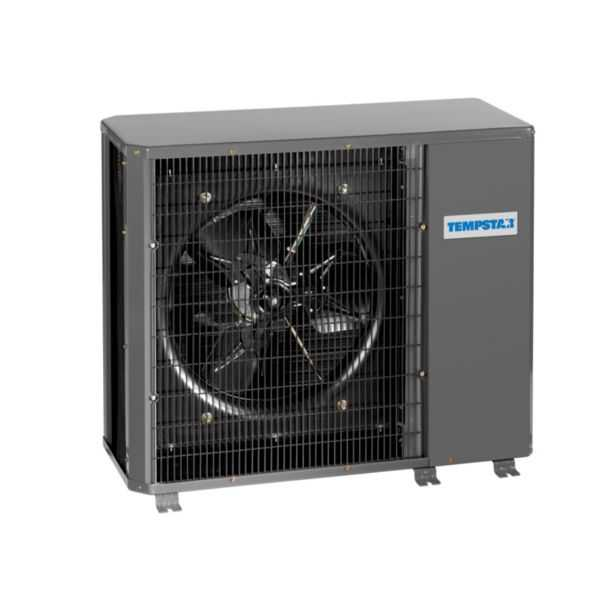 Tempstar NH4H460AKA - 5 Ton, 14 SEER, R410a Horizontal Discharge Heat Pump, 208-230/1/60, For Use With Ducted Indoor Unit