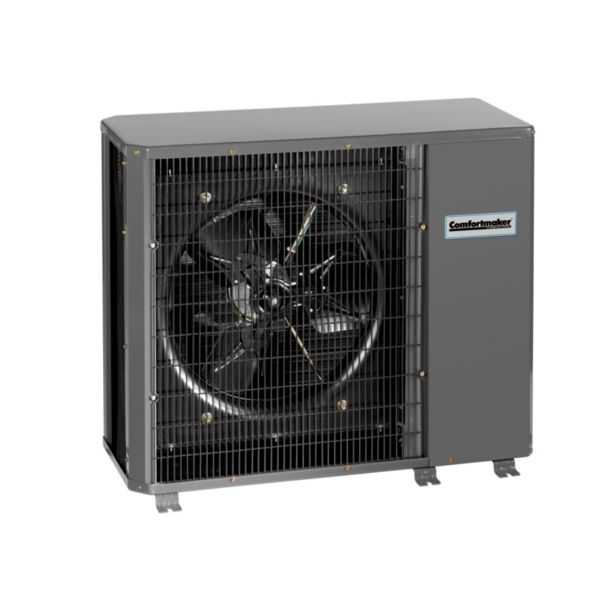 Comfortmaker NH4H424AKA - 2 Ton, 14 SEER, R410a Horizontal Discharge Heat Pump, 208-230/1/60, For Use With Ducted Indoor Unit