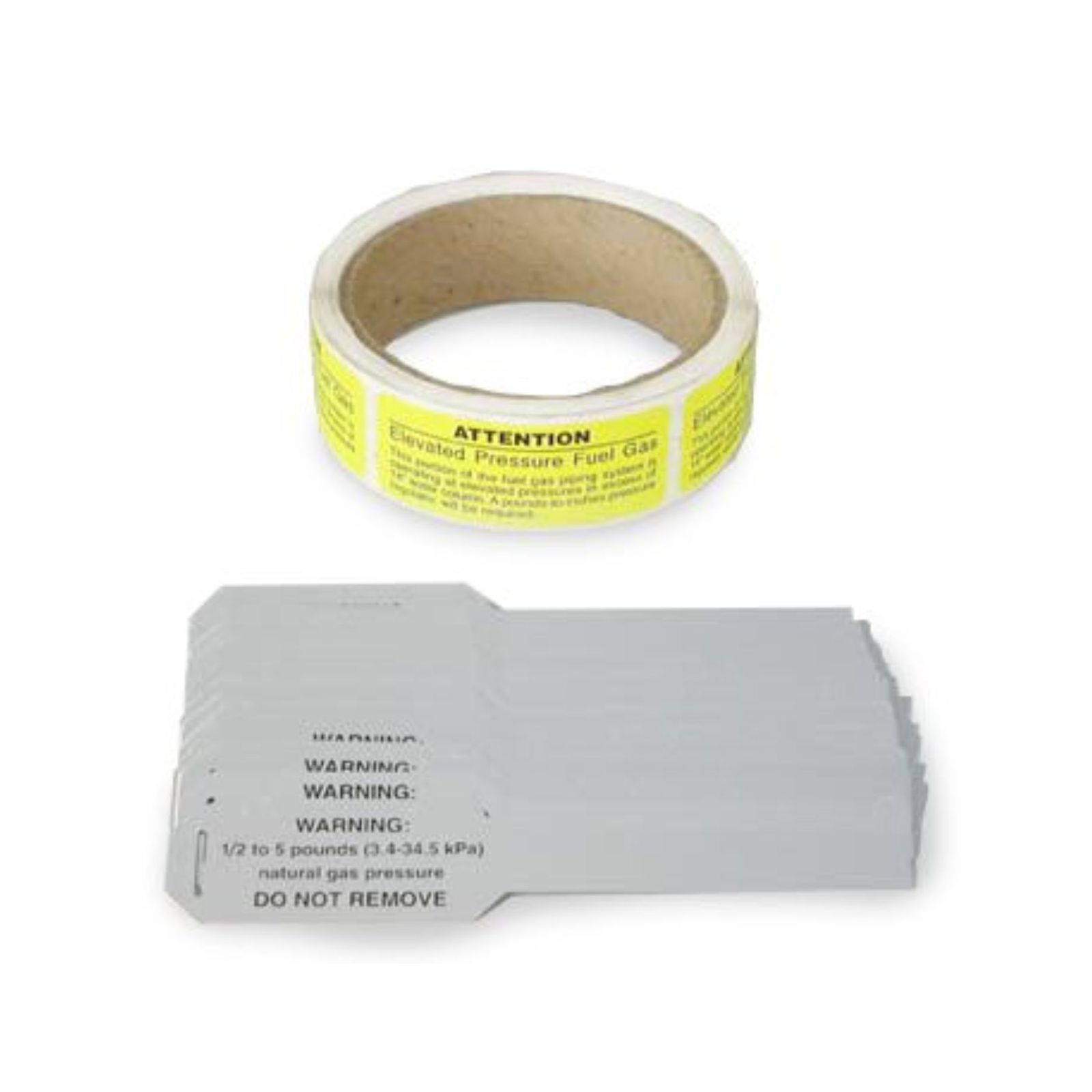 Gastite EPAL-1-100 - Adhesive Labels For Elevated Pressure Identification