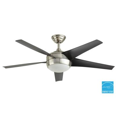Windward IV 52 in. Brushed Nickel Ceiling Fan