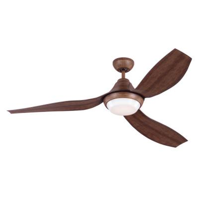 Avvo 56 in. Indoor Koa Ceiling Fan