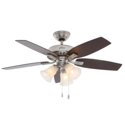 Atkinson 46 in. Indoor Brushed Nickel Ceiling Fan