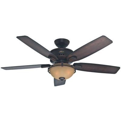 Morris County 52 in. Onyx Bengal Ceiling Fan