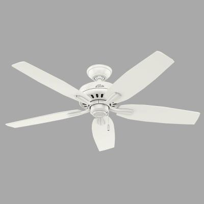Newsome 52 in. Indoor Fresh White Ceiling Fan