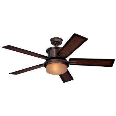 Goodwin 52 in. Oil Brushed Bronze Indoor Ceiling Fan