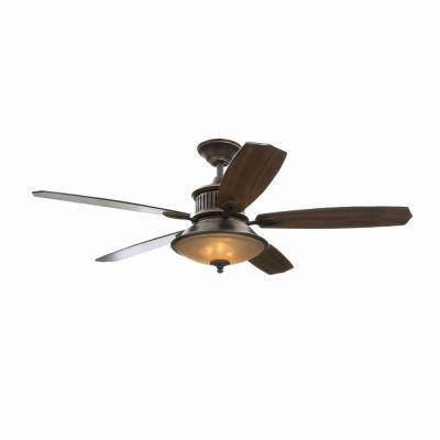 Isolabella II 52 in. Tarnished Bronze Ceiling Fan