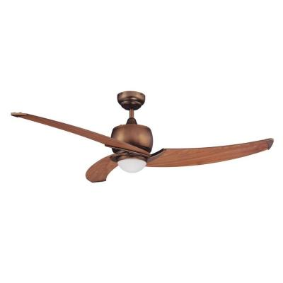 Cassiopeia 52 in. Architectural Bronze Indoor Ceiling Fan