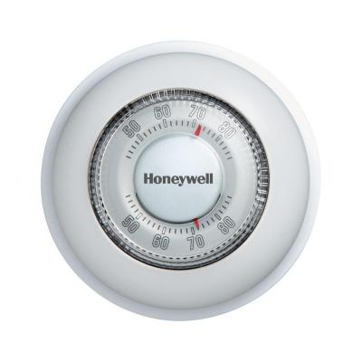 Round Mechanical Thermostat Heat Only