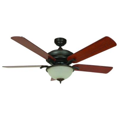 Matterhorn 52 in. Oil Rubbed Bronze Ceiling Fan with 72 in. Lead Wire