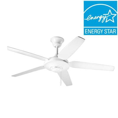 AirPro Signature 54 in. White Ceiling Fan