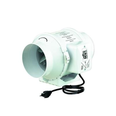 VENTS 105 CFM Power 4 in. Mixed Flow In-Line Duct Fan
