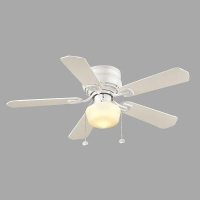 Middleton 42 in. Indoor White Ceiling Fan